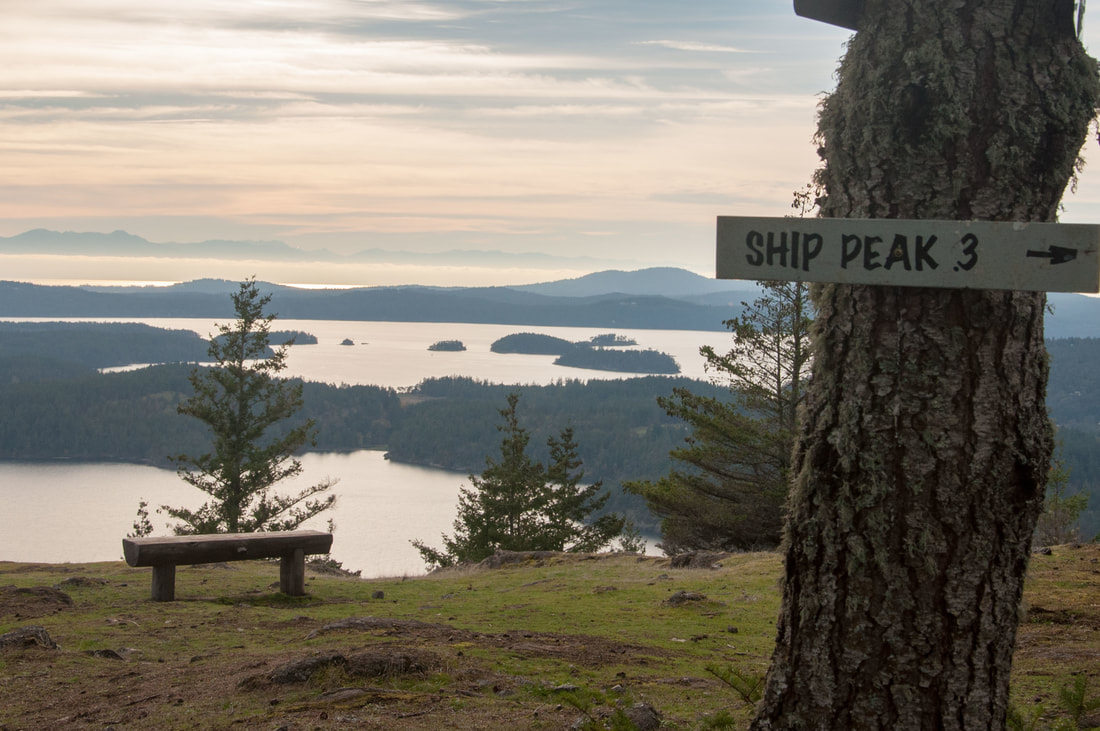 Turtleback Mountain Trail Orcas Island