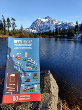 Beer Hiking Pacific Northwest book
